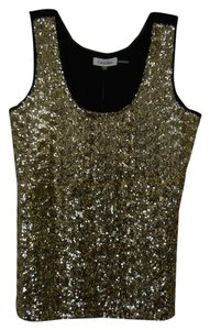 Calvin Klein Sequins Sparkle Gold Top