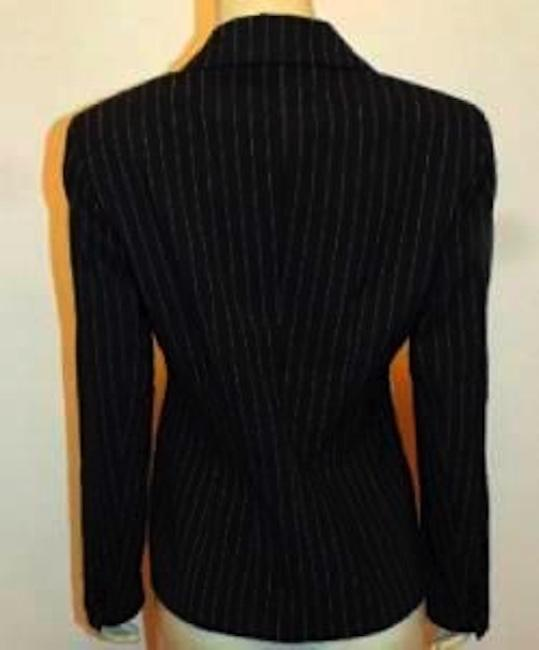 Victoria's Secret Body Size 8 BLACK PIN STRIPED Blazer