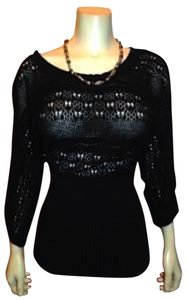 Belldini Sheer Knit Sweater