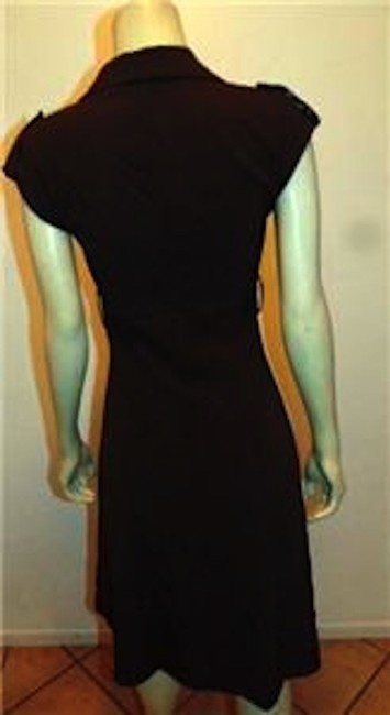 Double Zero short dress BROWN Button Front Small Summersale on Tradesy