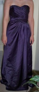 David's Bridal Purple (Lapis) F14853 Dress