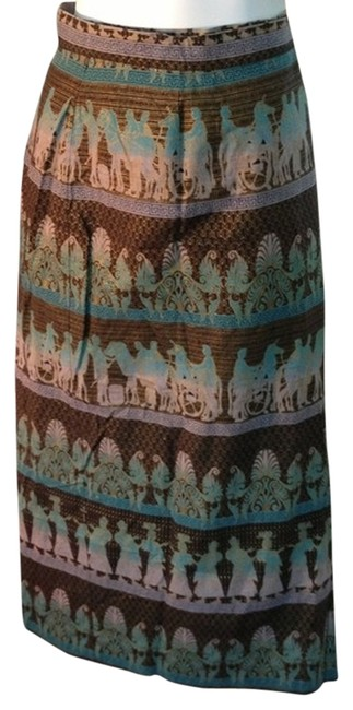 unknown Egyptian Greek Size 34 34 Waist Wrap Wrap Skirt multi