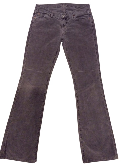 Item - Gray Distressed Cords Boot Cut Jeans Size 28 (4, S)