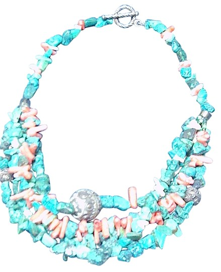 Preload https://img-static.tradesy.com/item/811543/turquoisecorral-and-necklace-0-0-540-540.jpg