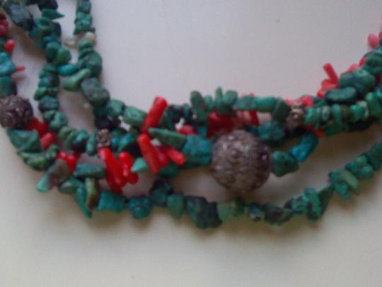 Other Turquoise and corral necklace Image 1
