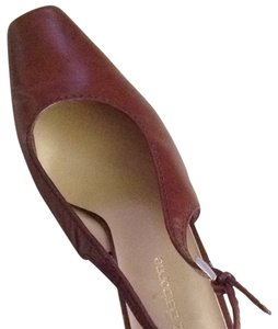 Liz Claiborne Medium Brown Mules