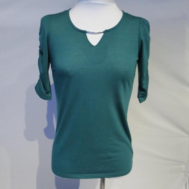 Allison Brittney Top Forest Green