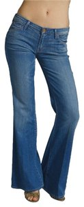 Mother Denim Low-rise Flare Leg Jeans-Medium Wash