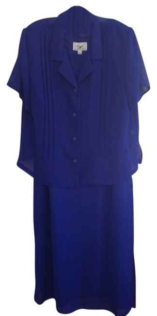 Preload https://img-static.tradesy.com/item/811785/donna-ricco-deep-blue-knee-length-cocktail-dress-size-16-xl-plus-0x-0-0-650-650.jpg