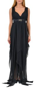 Black Maxi Dress by Versace Collection