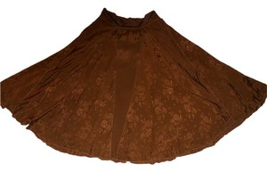 Coldwater Creek Maxi Skirt brown