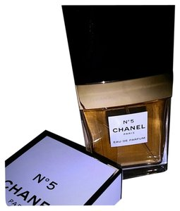 Chanel Chanel No 5 Eau de Parfum 1.2 FL. OZ 35 ML And CHANEL NO 5 SILVERTONE MAGNETIC PIN BROOCH WITH CHANEL DUSTBAG .