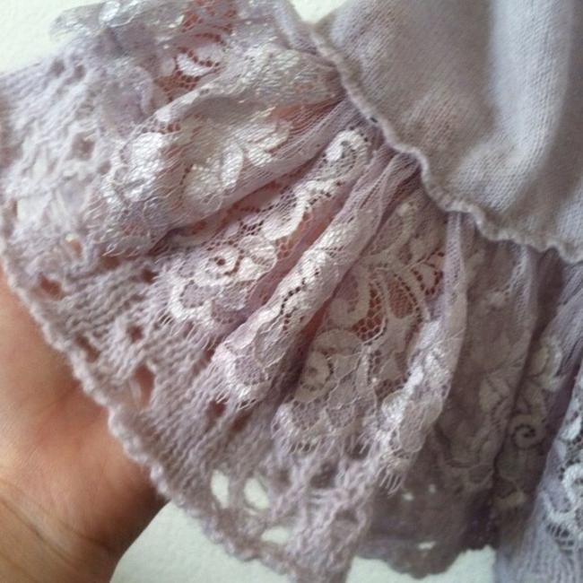 Free People short dress lavender Lace Crochet on Tradesy