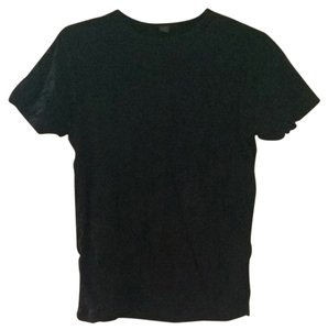 Jigsaw Pleated T Shirt Black