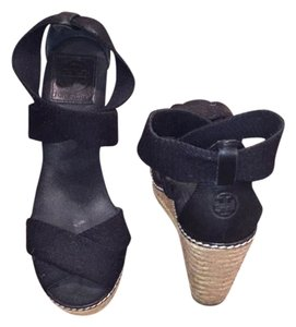 Tory Burch Midnight blue Wedges