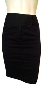 Guess Pencil High Waist Skirt black