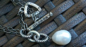 Silpada Beautiful Sterling Silver 925 & Pearl Drop Necklace by SILPADA Womens Classic Chain Charm Jewelry Gift Quality Retired Design