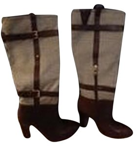 Tommy Hilfiger Stylish Brown Boots
