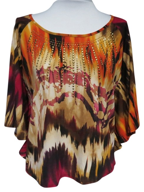 Preload https://img-static.tradesy.com/item/812256/multicolor-without-tags-medium-blouse-size-petite-10-m-0-0-650-650.jpg