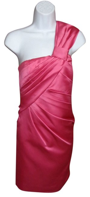 Phoebe Couture One Prom Pink Wedding Satin Dress