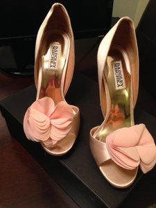 Badgley Mischka Pink Randall Pumps Size US 7.5