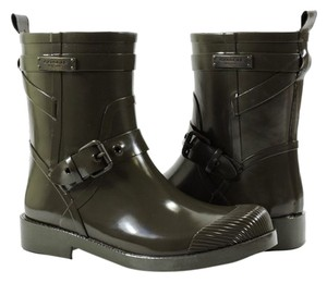Coach Rubber Lester Black Boots