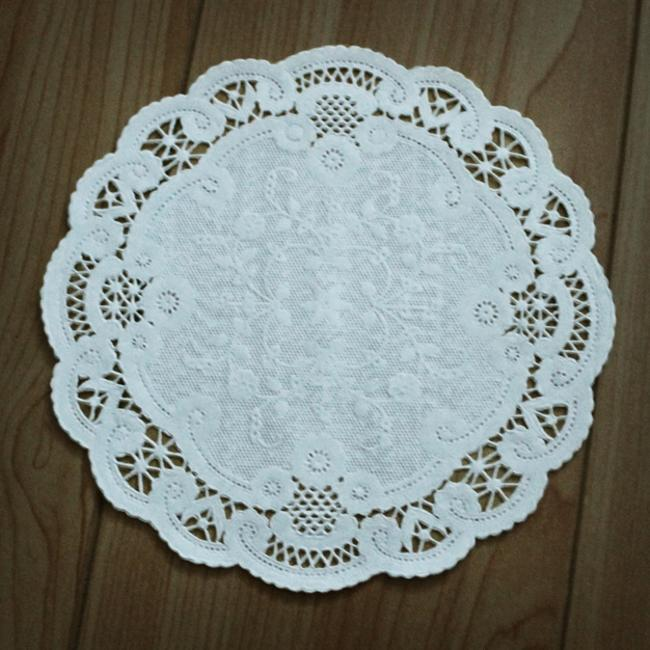 Item - White (450) 8 In Paper Doilies