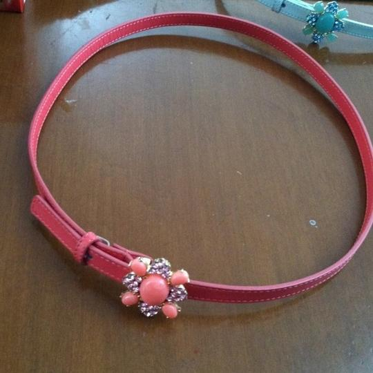 Banana Republic New Coral Crystal and leather