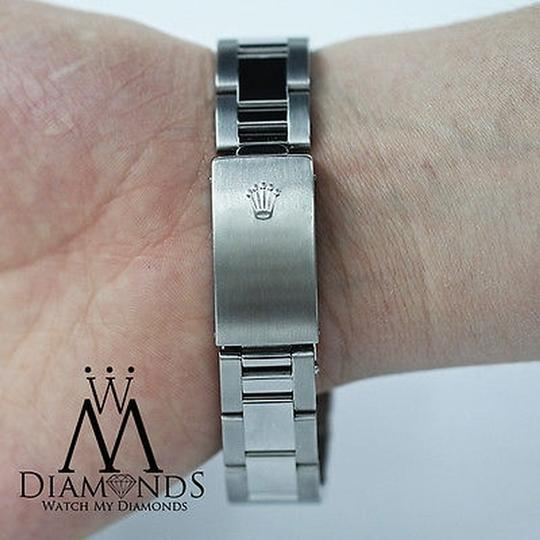 Rolex Rolex Ladies Diamond Oyster 67480 Midsize 31m mother of pearl Image 6