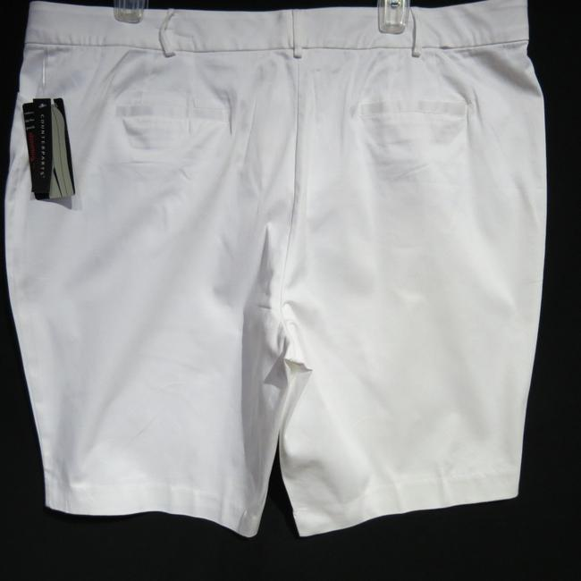 Counterparts 24w Bermuda Shorts White