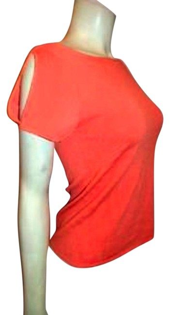 Neiman Marcus Knit Size Medium Top ORANGE