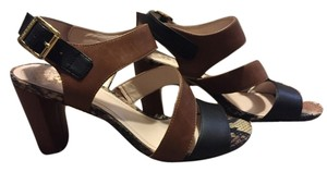 Vince Camuto Black/Tan Sandals