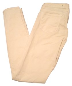 J Brand Skinny Pants Light Yellow