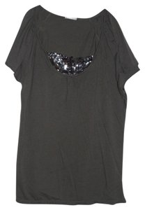 J.Crew T Shirt Gray with sequins