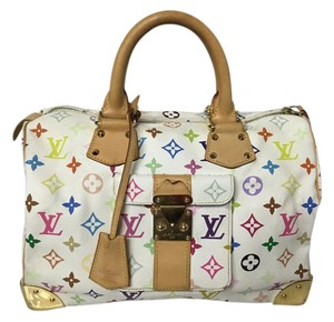 Louis Vuitton Speedy Multicolore Speedy Satchel in Orange