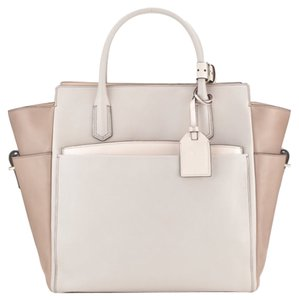 Reed Krakoff Blush Altantique Krakoff Atlantique Tote in Nude beige colorblock
