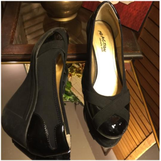 Kenneth Cole Reaction Blac Wedges Image 3