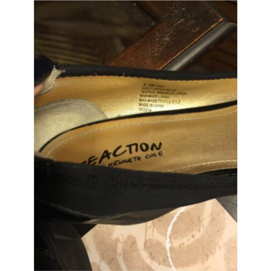 Kenneth Cole Reaction Blac Wedges Image 5