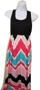 Pink Multi Maxi Dress by Other