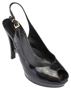 Fendi Slingback Black Pumps