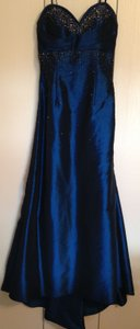 Milano Formals Midnight Blue Evening Gown Dress