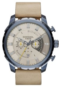 Diesel Diesel DZ4354 Chronograph Stronghold Light Brown Leather Band Watch