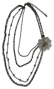 Other GRADUATED CHAINS FLOWER NECKLACE