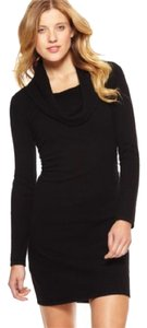 Gabriella Rossi Cowl Neck Sweater Casual Date Night Holiday Comfortable Soft Dress