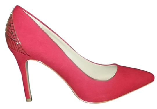 Mixx Shuz Red Pumps