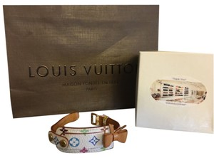 Louis Vuitton Louis Vuitton ID Tag White Multicolor Monogram Bracelet