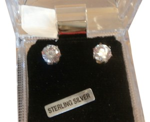 Other NEW STERLING SILVER 8CTW CUBIC ZIRCONIA EARRINGS