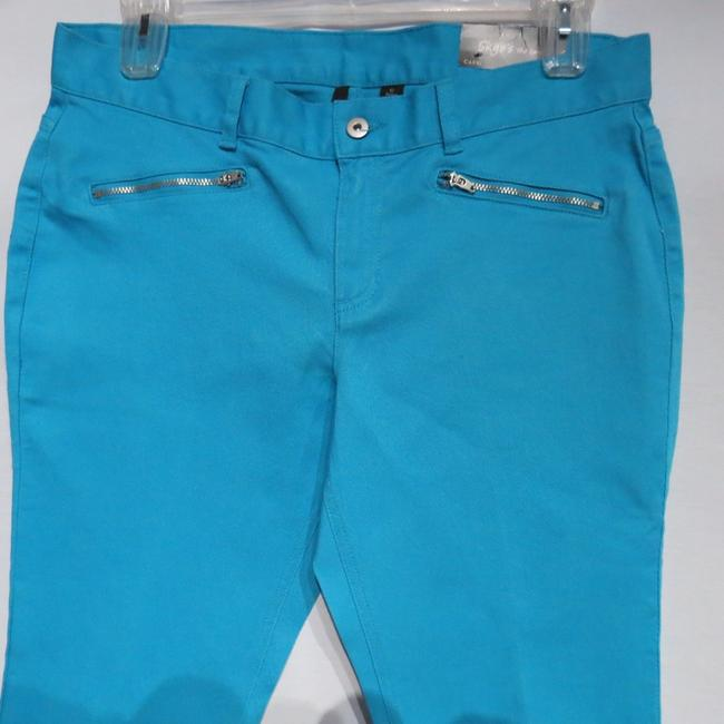 Skye's the Limit Capris Blue