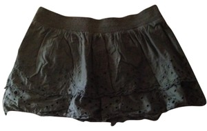 American Eagle Outfitters Mini Skirt Olive