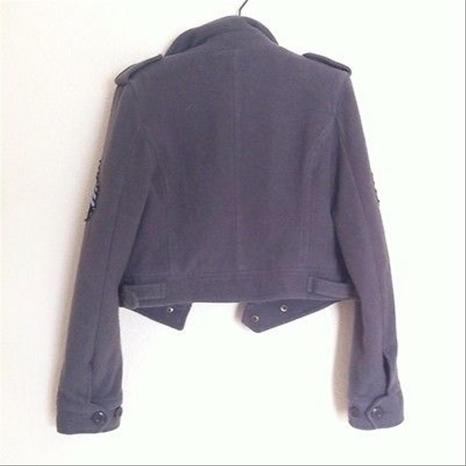 Urban Outfitters Military Fleece S Military Jacket